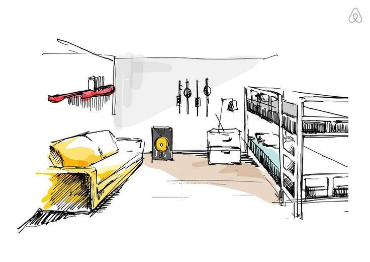 Xem kĩ phòng trước khi đặt trên Airbnb