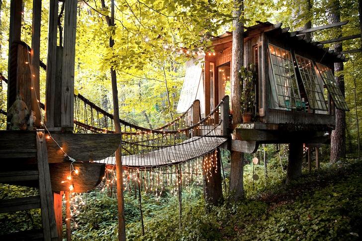 Secluded Treehouse – Atlanta, Georgia