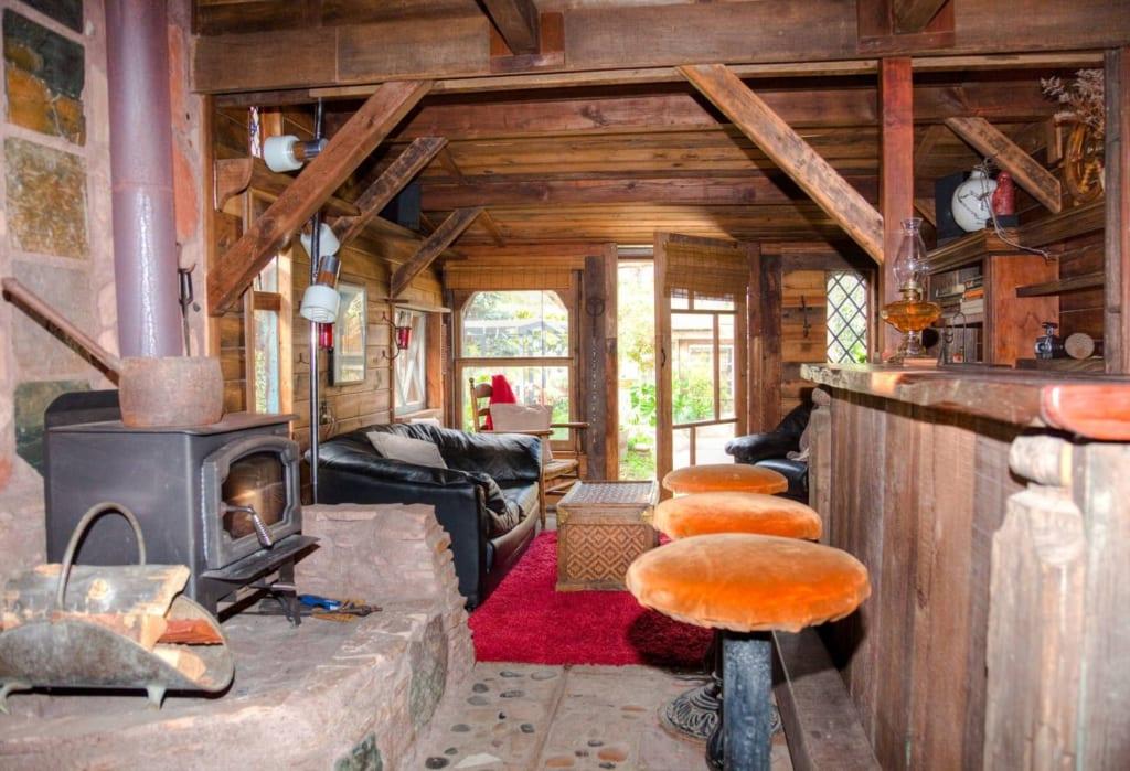The Hobbit House, aka, The Pub! (Cambria, California)