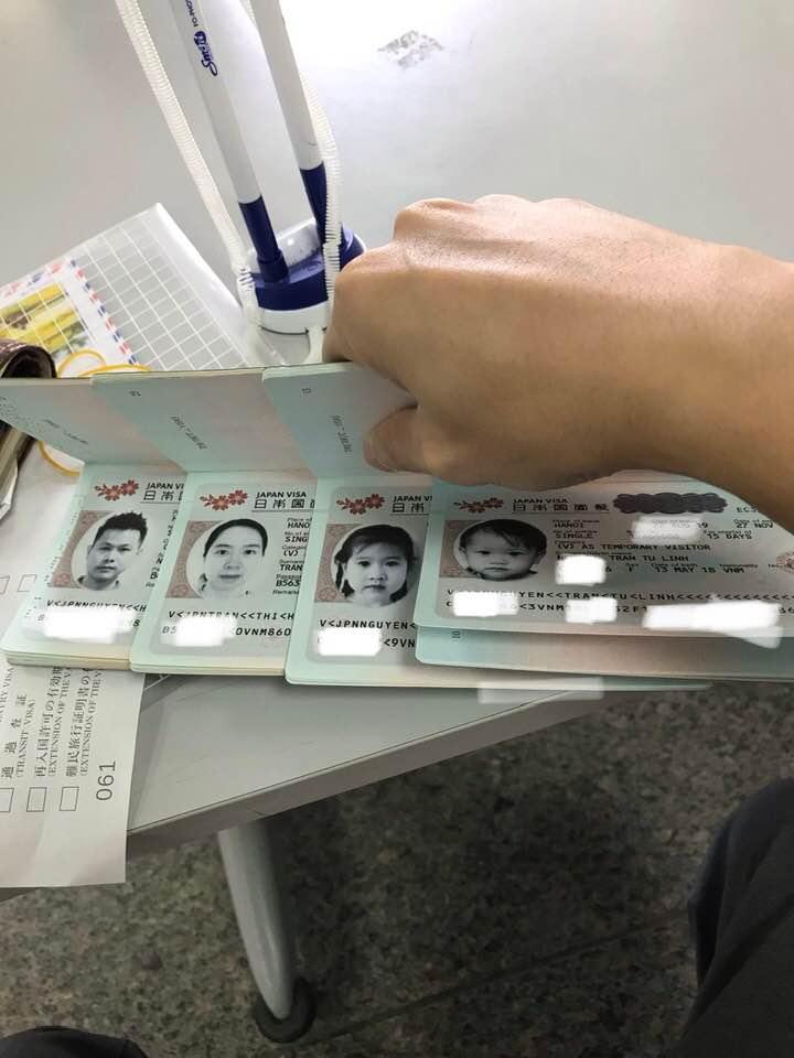 xin visa Nhật